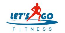 Logo Let's Go Fitness'